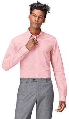 find. Men's Shirt in Textured Slim Fit,X-Large