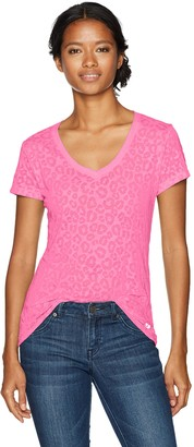 Soffe Women's Burnout V Tee