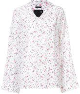 R 13 floral print shirt - women - Silk - XS