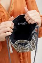 Aspiga Gotah Metallic Beaded Pouch