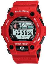 Casio Men's G-7900A-4DR G-Shock Resin Silver Dial Watch