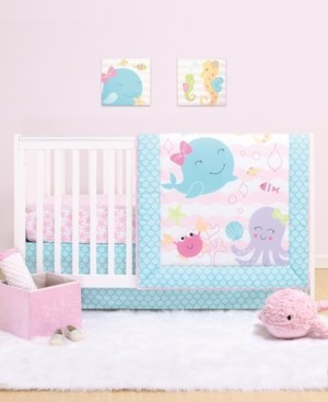 The Peanut Shell Ps by The Sea Sweeties 3-Piece Crib Bedding Set Bedding