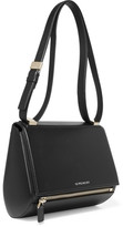 Givenchy Pandora Box Medium Textured-leather Shoulder Bag - Black