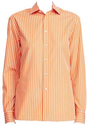 Ralph Lauren Rowland Striped Boyfriend Shirt