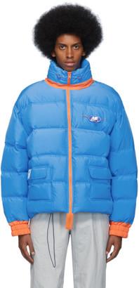 Ader Error Blue Down AE Puffer Jacket