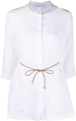 Fabiana Filippi 3/4 Sleeve Shirt