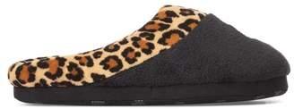 Ralph Lauren Leopard Slipper