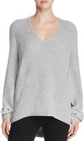 Three Dots Willa Slouchy V-Neck Sweater
