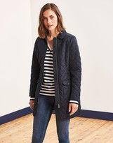 Crew Clothing Forres Quilted Long Jacket