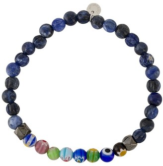 Tateossian Millefiori beaded bracelet