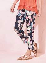 Kaleidoscope Floral Print Trousers