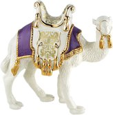 Lenox First Blessing Lavender Saddle Standing Camel Figurine