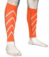 Generic Pair Calf Support Compression Leg Sleeve Sport Socks Outdoor Exercise