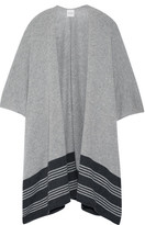 Madeleine Thompson Marrick Striped Cashmere Wrap - Gray