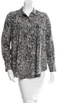 IRO Printed Long Sleeve Top w/ Tags