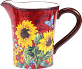Certified International Sunflower Meadow Pitcher