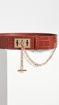 Thumbnail for your product : Frame Le Chain Lock Waist Belt