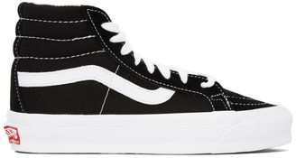 Vans Black OG Sk8 Hi LX Sneakers