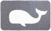 Kikkerland 24-Inch x 36-Inch Whale Door Mat in Grey
