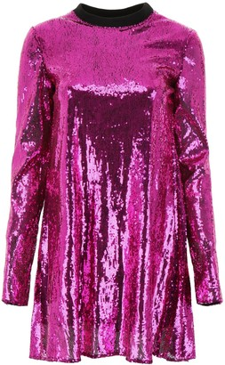 Philosophy di Lorenzo Serafini Sequinned Dress