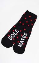 Buffalo David Bitton Black Sole Mate Socks