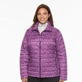 Columbia Plus Size Frosted Ice Printed Puffer Jacket