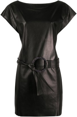 Drome Belted Waist Dress