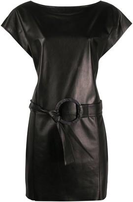 Drome belted waist dress