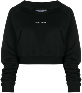 Alyx Cropped Hooded Sweatshirt