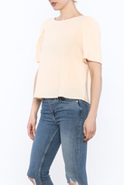 Kensie Bow Back Blouse