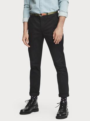 Scotch & Soda Stuart stretch chino regular slim-fit with belt   Men