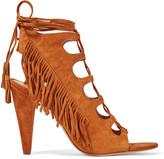Sigerson Morrison Marita fringed suede sandals