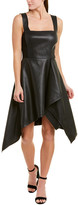 BCBGMAXAZRIA High-Low Midi Dress