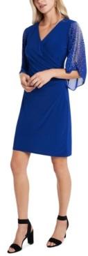 MSK Embellished Cold-Shoulder Dress