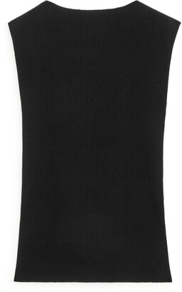 Arket Sleeveless Rib Top