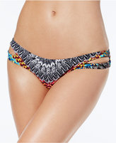 Jessica Simpson Dakota Printed Reversible Hipster Bikini Bottoms