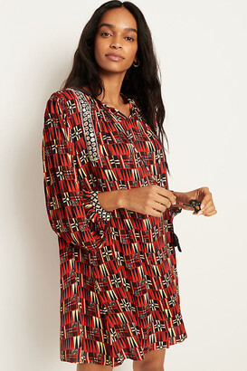 Sarah Tunic Dress By Verb by Pallavi Singhee in Assorted Size XS