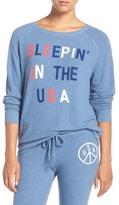Junk Food Clothing &Sleepin& in the USA& Hacci Sweatshirt
