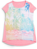 Jessica Simpson Girls 7-16 Tropical Tee