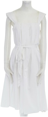 John Rocha White Cotton Dress for Women