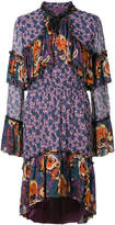 Anna Sui high neck printed dress