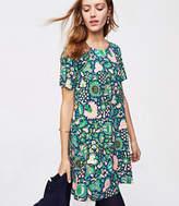 LOFT Floriculture Swing Dress