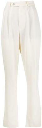 Roseanna Tapered Straight-Leg Trousers