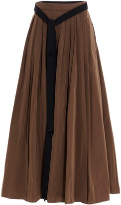 S Max Mara 'S Max Mara Pleated Midi Skirt