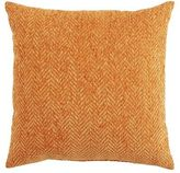 Pier 1 Imports Herringbone Chenille Orange Pillow