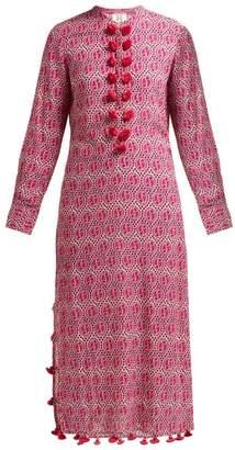 Figue Paolina Geometric Print Kaftan - Womens - Pink
