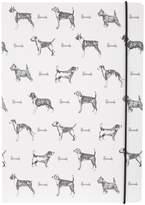 Harrods Sketchy Dog A5 Notebook