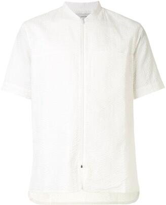 Cerruti Short Sleeve Mandarin Collar Shirt