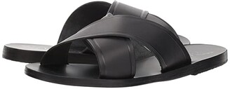 Ancient Greek Sandals Thais (Black Vachetta) Women's Sandals