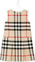 Burberry House Check sleeveless dress